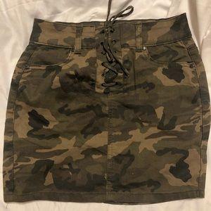 Dresses & Skirts - Camo Mini Skirt